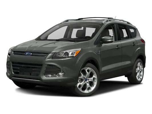 2016 Ford Escape Anium In San Antonio Tx Red Mccombs