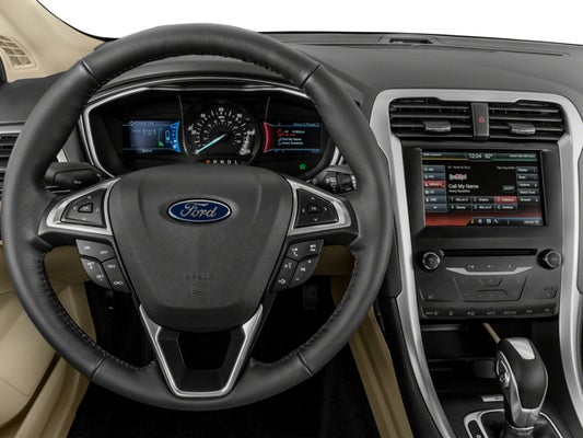 2016 Ford Fusion Energi Se Luxury In San Antonio Tx Red Mccombs