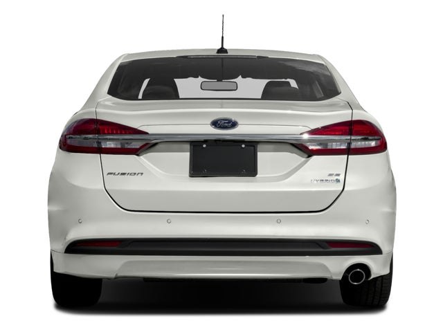 2017 Ford Fusion Hybrid Se In San Antonio Tx Red Mccombs