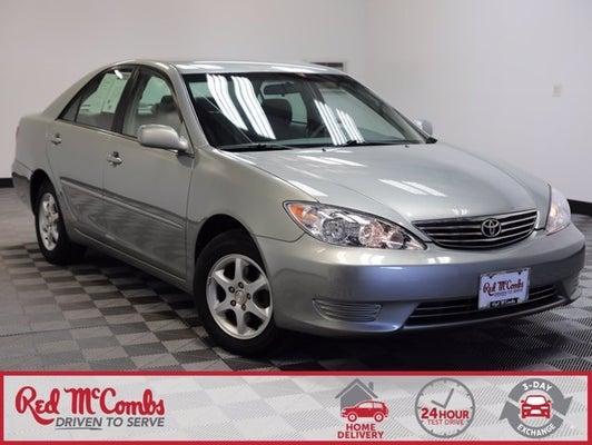 2005 Toyota Camry Le San Antonio Tx Boerne New Braunfels Helotes Texas 4t1be32k35u623067