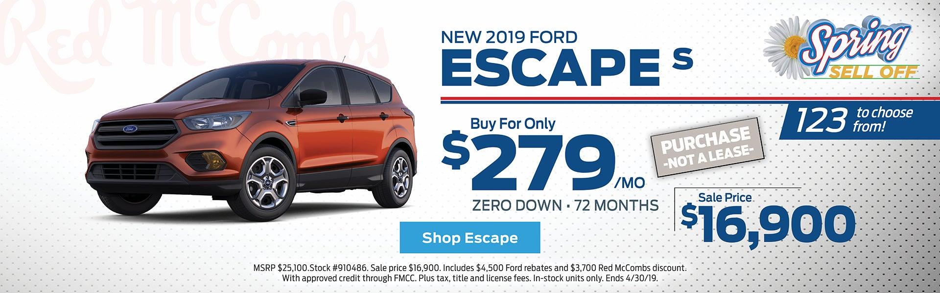 Escape Special Offer